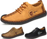 Men's Driving Shoes Loafers Flats Leather Shoes Casual Cowhide Moccasins Slip-On