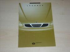 49918) Daewoo Leganza Österreich Prospekt 07/1997