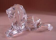 SWAROVSKI Crystal 1995 EDIZIONE ANNUALE 185410 Lion Nuovo di zecca BOXED RITIRATO RARO