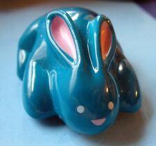 Buy1&Get1@50%~Hallmar k Rabbit Roadster Easter Bunny Pull Back Toy Vintage - Blue