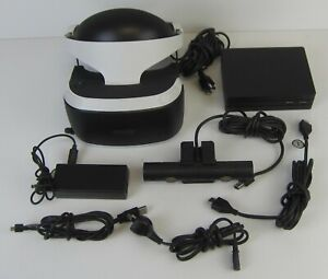 SONY PLAYSTATION 4 PS4 VR HEADSET CUH-ZVR2 WITH CAMERA