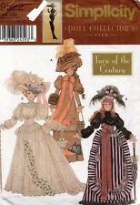 """Simplicity Fashion Doll Collector's Club Clothes Pattern 9522 Size 11.5"""" UNCUT"""