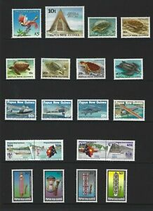 Papua and New Guinea Complete Mint Set 1984  Stamps
