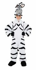 Childs Plush Zebra Fancy Dress Outfit Costume Age 7-8 Years P10191