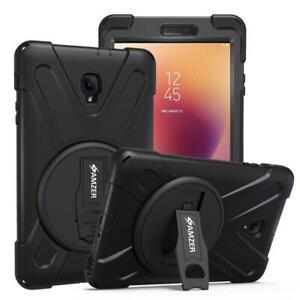 AMZER TUFFEN Case - Black for Samsung Galaxy Tab A 2017 SM-T385