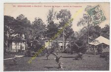 CPA COCHINCHINE GIA-DINH environs SAÏGON jardins inspection Edit POUJADE