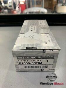 GENUINE NISSAN FRONT BRAKE PADS C12 B17 PULSAR D1060-3ST0A