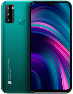 "BLU G51 Plus | 2021 | All Day Battery | Unlocked | 6.5"" HD+ Infinity GREEN"
