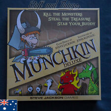 *Genuine* Munchkin - Deluxe Edition - Adventure Card Game - Main Game Set