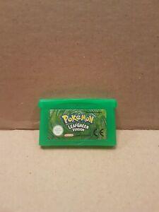 GENUINE POKEMON LEAF GREEN NINTENDO GAMEBOY ADVANCE GAME SP GBA Leafgreen