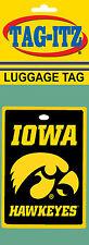 Iowa Hawkeyes Luggage Tag