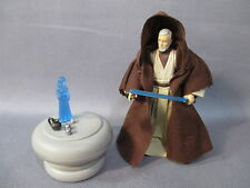"Star Wars Legacy Collection ""OBI WAN KENOBI"" Complete w/ Princess Leia Hologram"