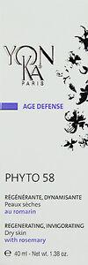 Yonka New Box Phyto 58 PS Cream Dry Sensitive Skin 1.4oz  BRAND NEW* Sale