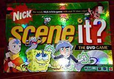 Nick Scene it? Family Fun Game DVD Complete Spongbob, Jimmy Neutron EUC