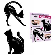 Eyeshadow Eyeliner Stencil Set Makeup Guide Quick Smoky Cat Eye Liner Tools UK