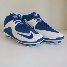 Nike MVP PRO 2 MCS Baseball/Softball 3/4 Molded Cleats BLUE 716874 410 SIZE 12