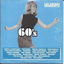 CD CARDSLEEVE GRANDS MOMENTS 60's 21t PRESLEY/BYRDS/SANTANA/SEDAKA/TOKENS NEUF