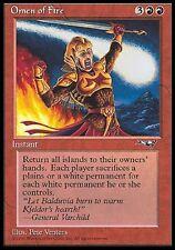MTG Magic - Alliances  - Omen of Fire -  Rare VO