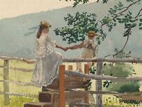 WINSLOW HOMER AMERICAN STILE OLD ART PAINTING POSTER PRINT BB6557A