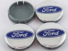 Ford Satz von 4 x 60mm Nabendeckel Nabenkappen Felgendeckel Radkappen 6cm
