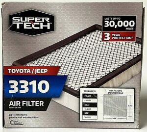 Super Tech 3310 Toyota Jeep Replacement Air Filter