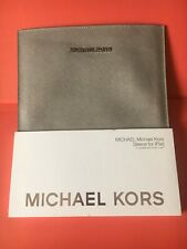 Pochette APPLE  iPad MICHAEL KORS Neuve Pearl Grey