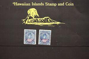 157 HAWAII SCOTT #54 UNUSED PROVISIONAL GOVT. 1893 OVERPRINT