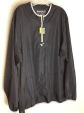NEW Easton Men's Adult M5 Batting Cage Jacket Long Sleeve Black XXL