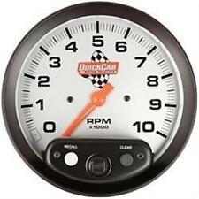 """Quickcar Tachometer Tach 5"""" recall Memory IMCA NHRA Mod"""