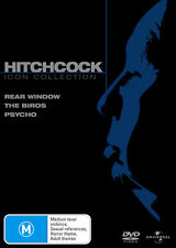 Psycho (1960) Rear Window (1954) The Birds (1963) Alfred Hitchcock Collection