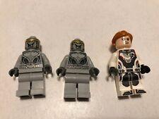 Lego Avengers 76144 Black Widow And 2 Aliens Minifigure - New