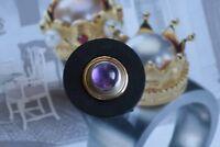 Massive Scheibe aus Silber / Gold  -  Aufsatz für Charlotte 21 / RD