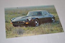 Jaguar E-TYPE Vintage 1974 Coupe Postcard Brochure V12 NOS XKE Series 3 S III