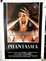 poster on linen PHANTASM 1979 LINENBACKED Spanish 1sht 28x40 Angus Scrimm HORROR