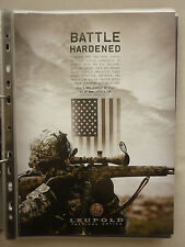 4/2010 PUB LEUPOLD TACTICAL OPTICS SNIPER US-ARMY SPECIAL FORCES MILITARY AD