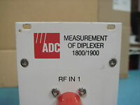 ADC 1800/1900 Used Measurement of Diplexer