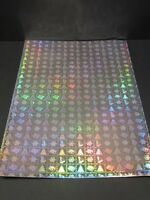 20 x A4 Holographic Self Adhesive Paper Christmas Theme AM281