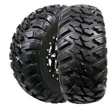 Set of (2) 27-9-14 & 27-11-14 GBC Kanati Mongrel 10 ply Radial DOT ATV UTV Tires