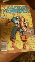 Marvel Comics Captain America  #319 1986 Book Newsstand