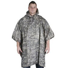 Fox Military Ripstop Digital Terrain Poncho With Carry Bag