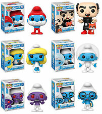 Funko POP! Animation ~ SMURFS VINYL FIGURE SET ~ Smurfette, Gargamel, Papa+++