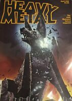 Heavy Metal Comics June 1980 in nice condition. Illustrated Adult Magazine