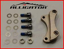 Bremsscheibenadapter CNC gefräst ALU für hinten IS 2000 160 auf IS 2000 203 NEU