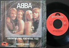 ABBA SINGLE MADE IN PORTUGAL 45 PS 7 *KNOWING ME, KNOWING YOU*