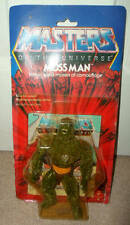 MASTERS OF THE UNIVERSE MOTU VINTAGE FIGURE MOSS MAN 1984 carded mattel he man