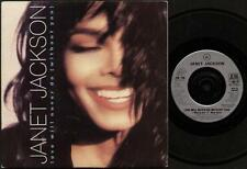 """JANET JACKSON Love Will Never Do (Without You)  7"""" Ps, Love Will Never Do (Witho"""