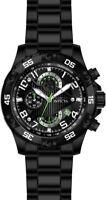 Invicta Men's S1 Rally Quartz Chronograph 100m Black Tone S. Steel Watch 26101