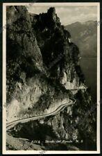 TRENTO RIVA DEL GARDA 96 STRADA DEL PONALE Cartolina REAL PHOTO