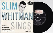 Slim Whitman ORIG OZ Promo EP Sings Volume 3 EX 1959 London EZA1199 Country Folk