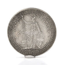 Round 1911 One Yuan Tibetan Warrior Ancient Silver Dollar Coins Collectable Coin